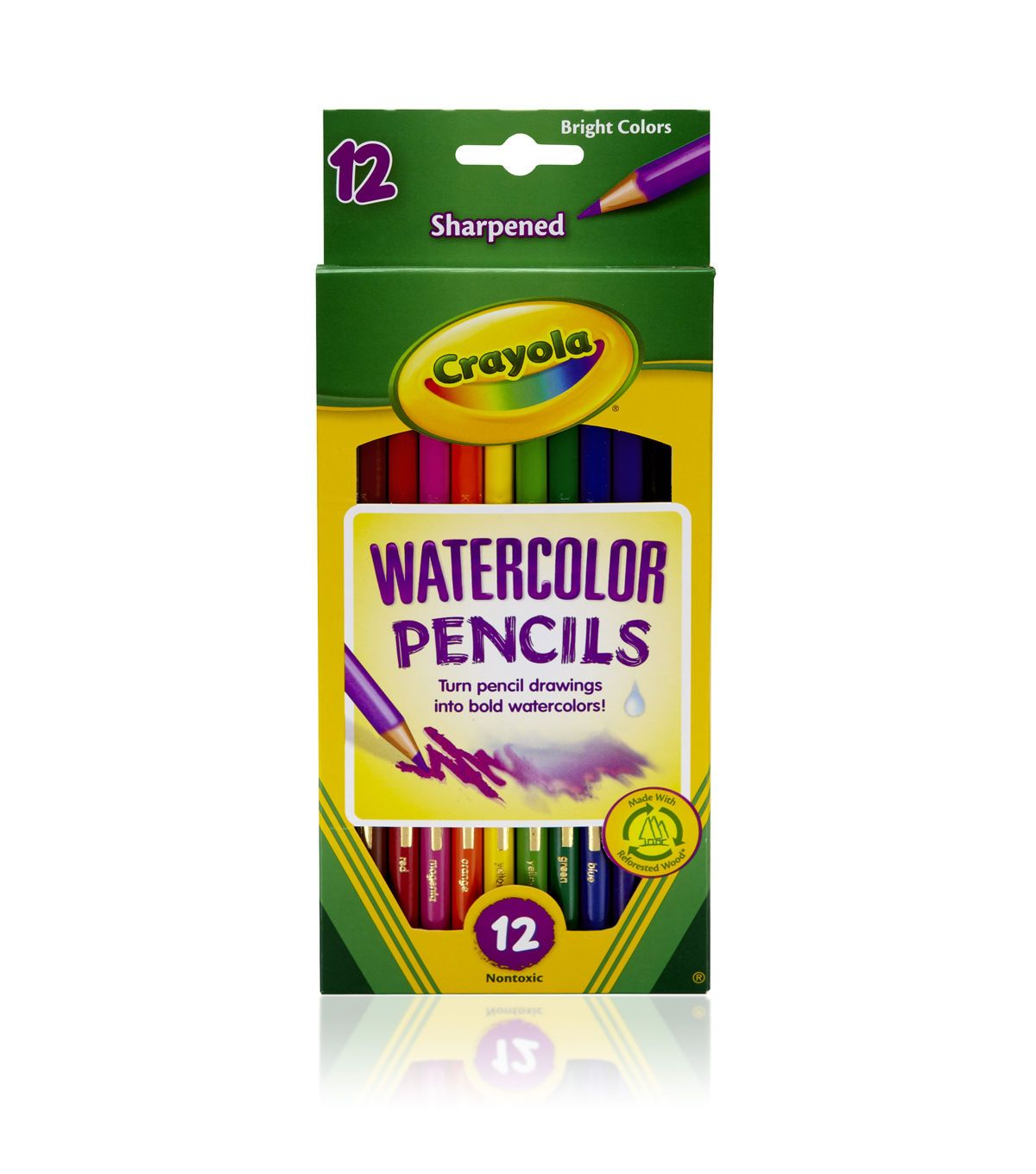 Crayola 12ct Watercolor Colored Pencils Crayola Colored Pencils