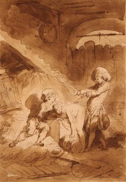 Jean-Honoré Fragonard - La jument du compère Pierre