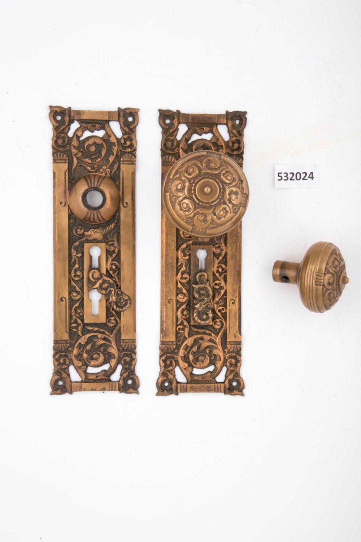Columbia Antique Entry Door Set 532024 by CharlestonHardwareCo on Etsy - Columbia Antique Entry Door Set 532024 By CharlestonHardwareCo On