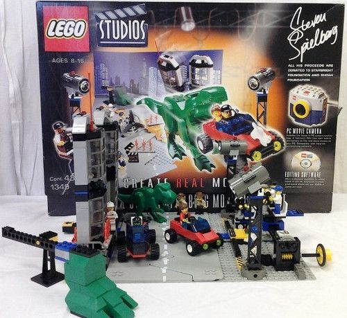 Lego 1349 Studios Steven Spielberg Moviemaker Set and More Please ...