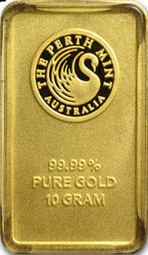 10 Gram Gold Australian Perth Mint Bar Obverse Each 10 Gram Gold Bar Is Sealed In A Tamper Proof Assay Card Featur Monedas De Oro Metales Preciosos Oro Puro