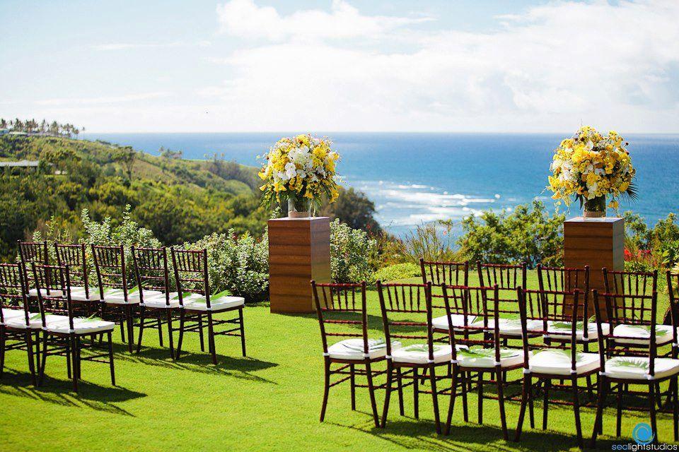 Gorgeous Wedding Ceremony On A Private Kauai Estate Moana Events