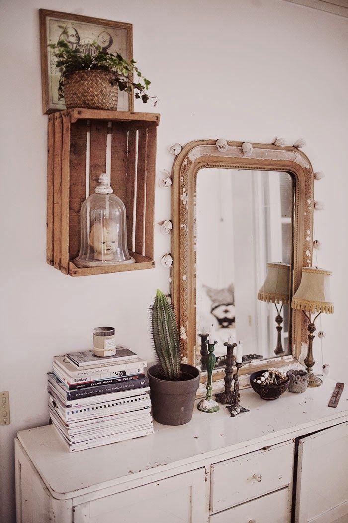 Paris   Lu0027intérieur de la photographe Anna Malmberg   Bedrooms - meuble vide poche design