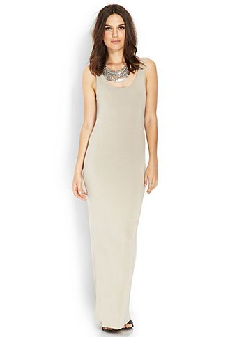 Jersey Knit Maxi Dress | FOREVER21 - 2000072346