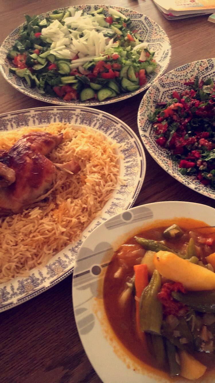 كبسة سعودية Snap Food Food And Drink Cooking Dinner