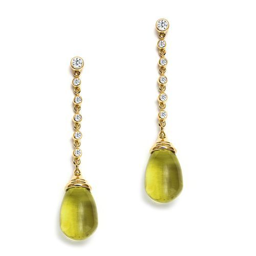 Syna 18kt Mogul Earrings With Diamonds BTSgu