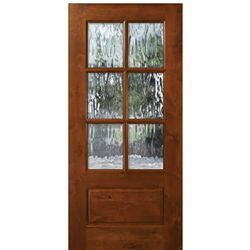 Tdl Ka 6 Lite 68 Wood Front Doors Wood Doors Entry Doors
