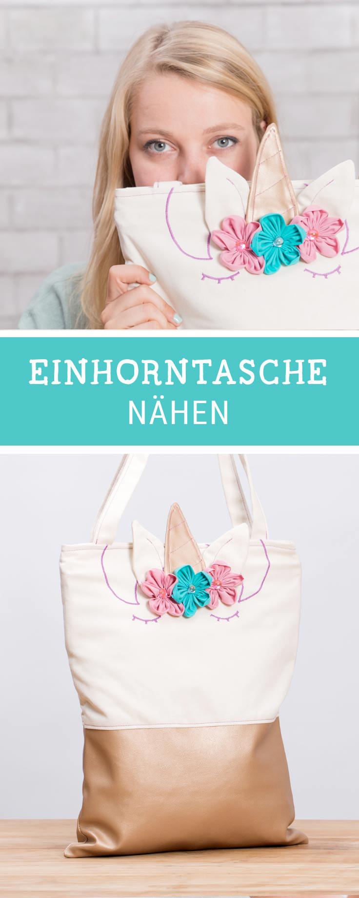 DIY-Anleitung: Niedliche Einhorntasche nähen via DaWanda.com ...