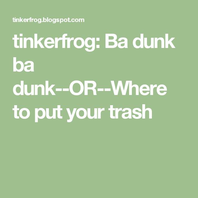 Ba Dunk A Dunk