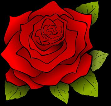Flor Red Rose Natureza Arte Rosa Adesivos De Unhas Cartoes