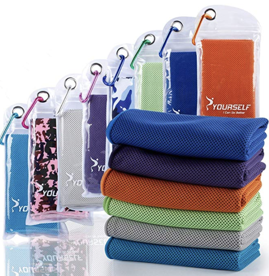 Traveling To Disney Stay Cool With These Cooling Towels Quickly Cools Down By Just Soaking Wringing The Water Out