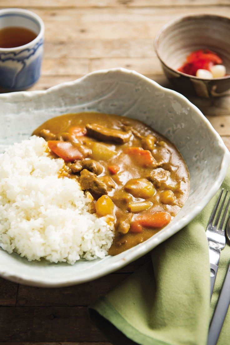 Japanese Style Curry Karei Raisu Recipe Japanese Curry Food Recipes