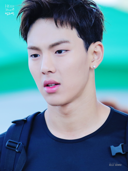 Monsta X Shownu © hello shownu | do not edit.