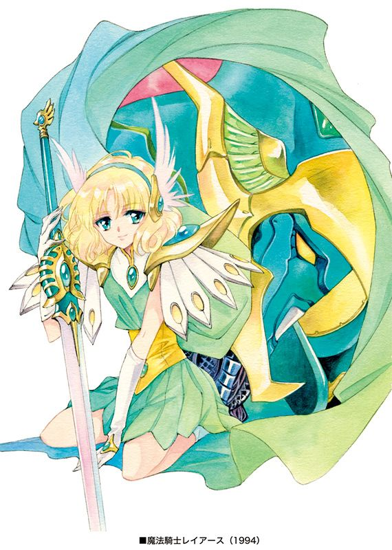 magic knight rayearth, fuu hououji, windam