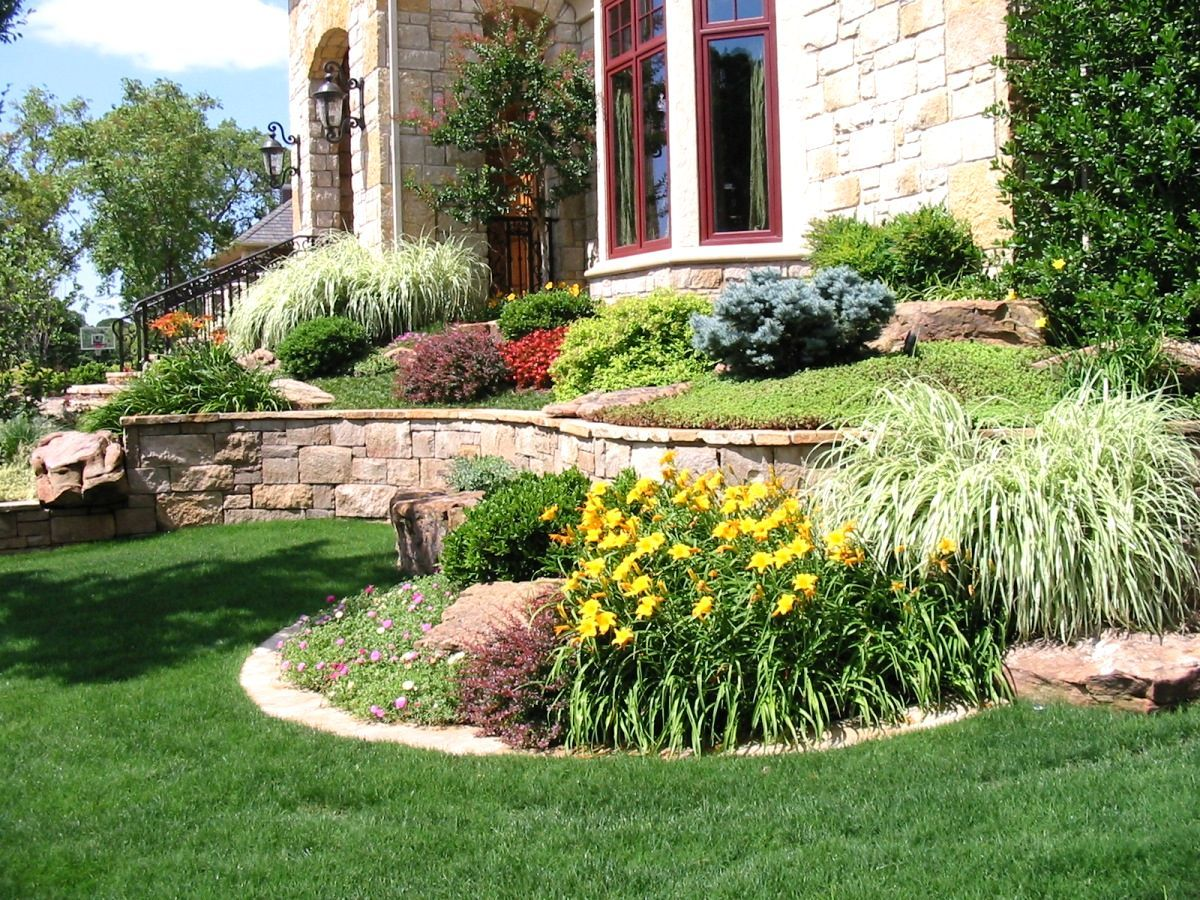Landscaping ideas front yard kansas city design plan for Garden ideas and designs photos