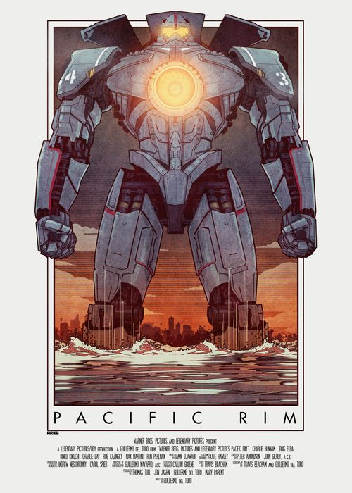 Pacific Rim poster by Matt Ferguson