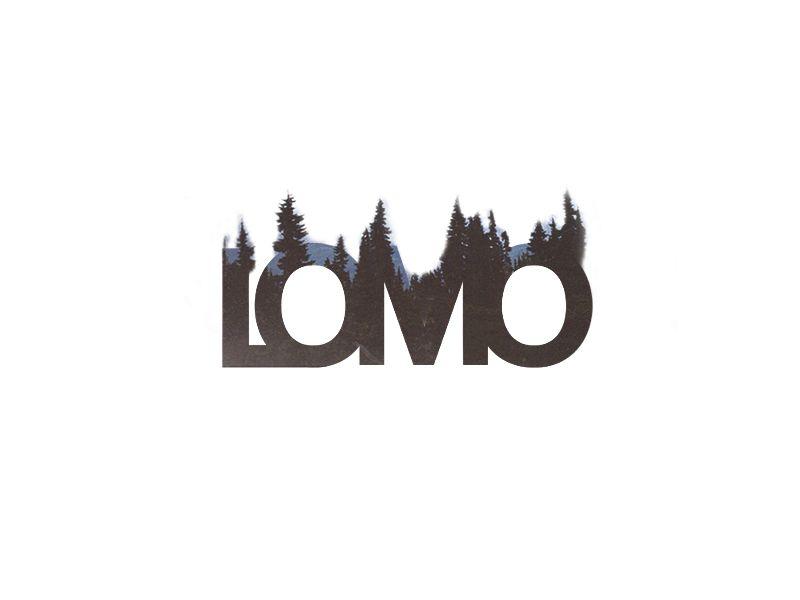 65b12476b0b22 LOMO Double Exposure Logo Double Exposure, Typography, Graphic Design,  Logos, Cool Designs
