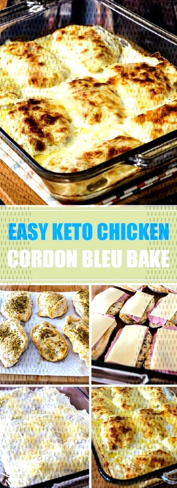 ★★★★★ 45 reviews: Easy Keto Chicken Cordon Bleu Bake | Cheesy Creamy Low-Carb Chicken Cor