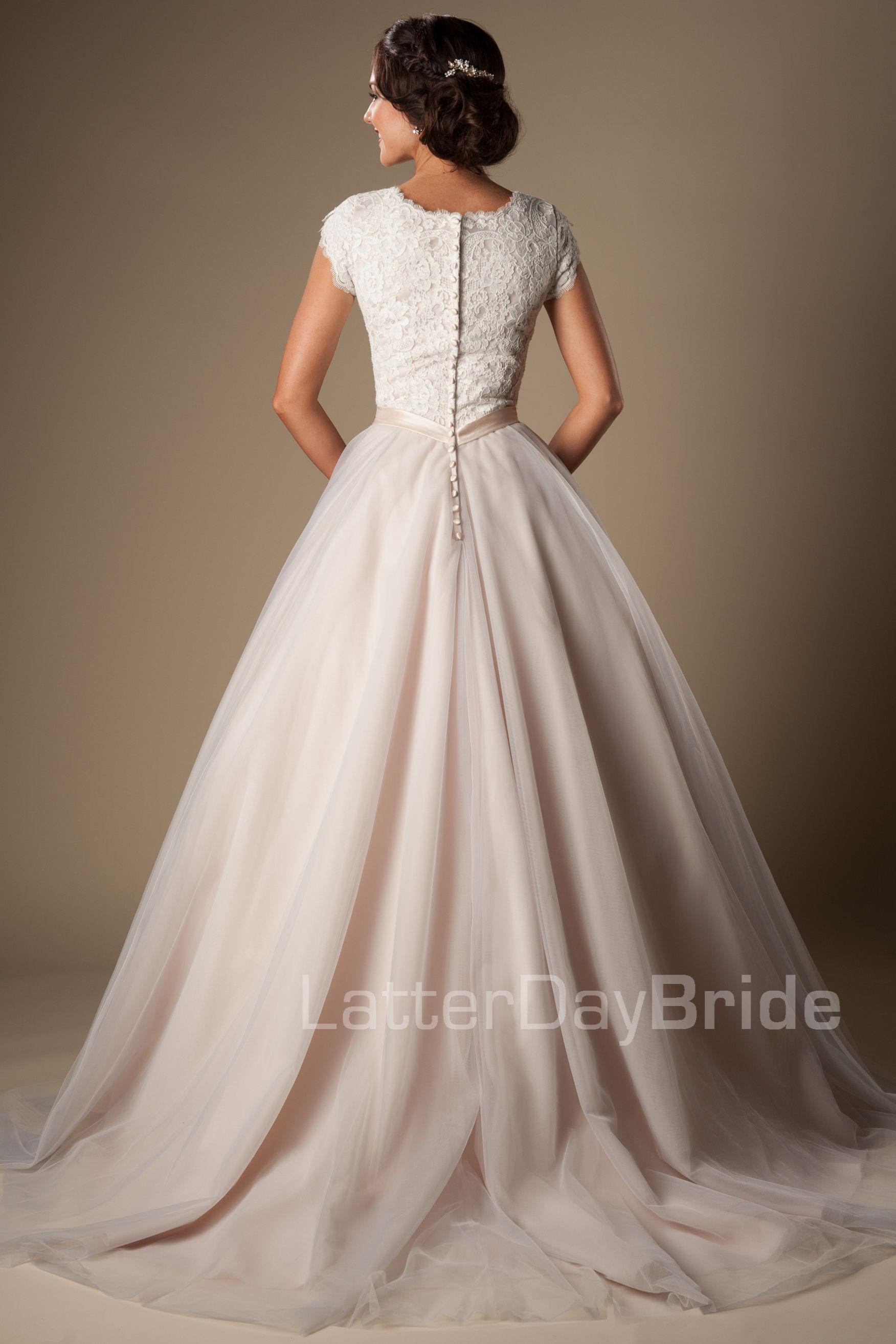 wedding-dresses-utah-kensington_Back.jpg … | Modest wedding dresses ...