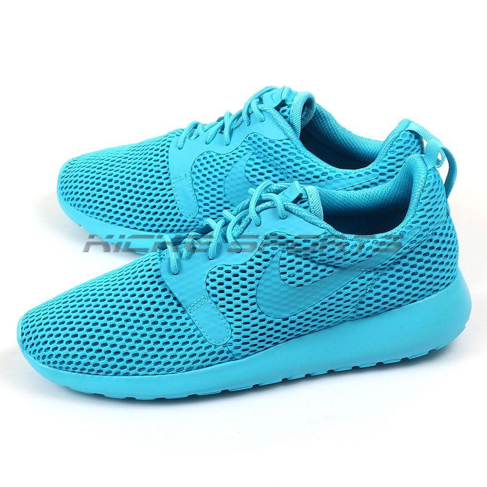 f08cffdac5221 Nike Wmns Roshe One Hyp Br Hyperfuse Breathe Gamma Blue Blue Lagoon 833826- 400
