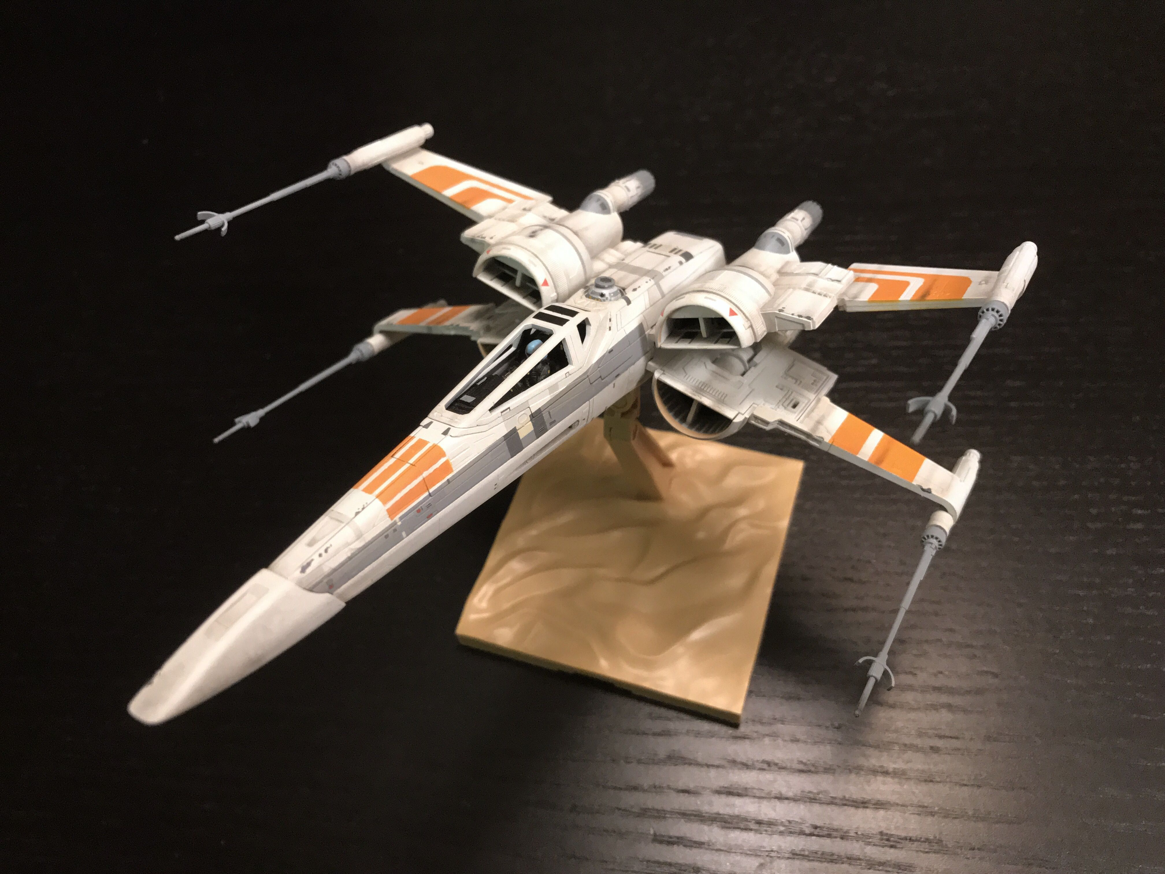 Bandai Star Wars Ralph McQuarrie X-Wing concept starfighter