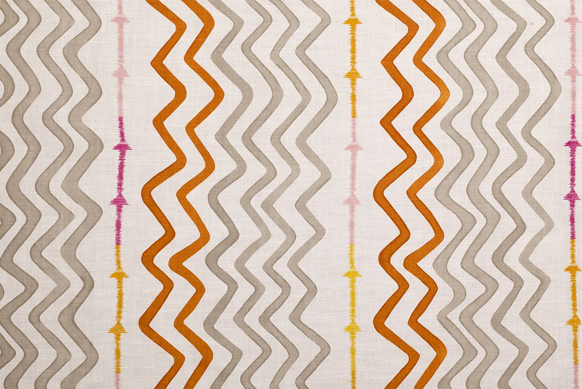 Rick rack by kit kemp for christopher farr cloth fabrics in