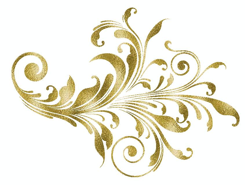 ZOOM DISEÑO Y FOTOGRAFIA Ornamentos Dorados
