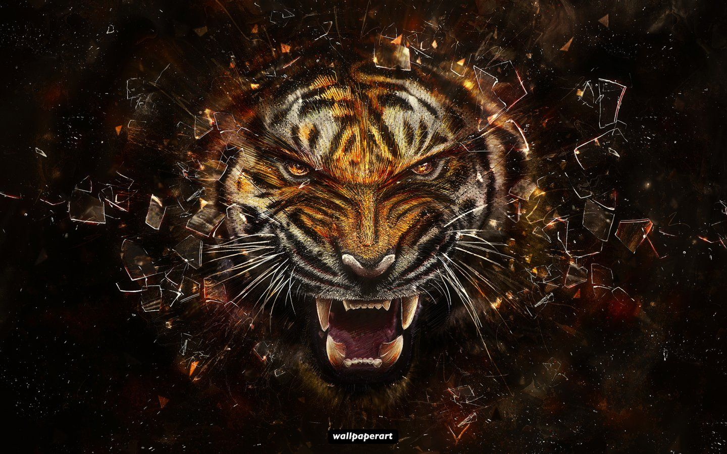 Fantasy Tiger Revenge Nature Nature Photography Wallpapers Backgrounds Tiger Wallpaper Tiger Images Steampunk Wallpaper