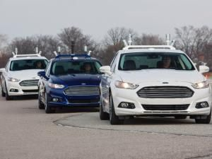 Self Driving Ford Inspired By Dolphin Self Driving Ford Motor