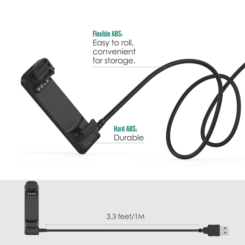 Garmin Forerunner 220 Charger Dock MoKo USB Data Sync Charge