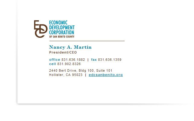 EDC Business Card/Email Signature | Design | Pinterest | Email ...