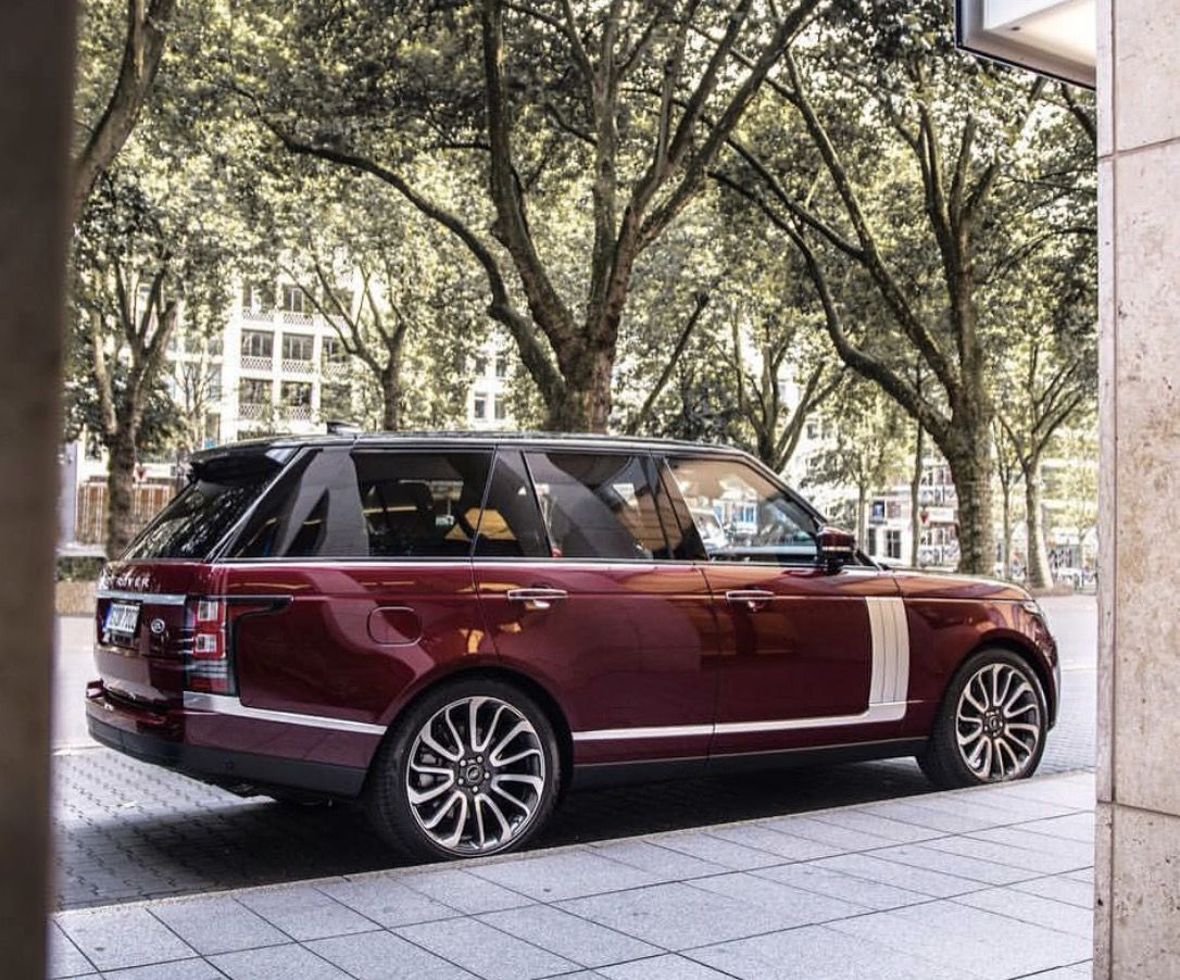 Nice Color Combination For The New Range Rover