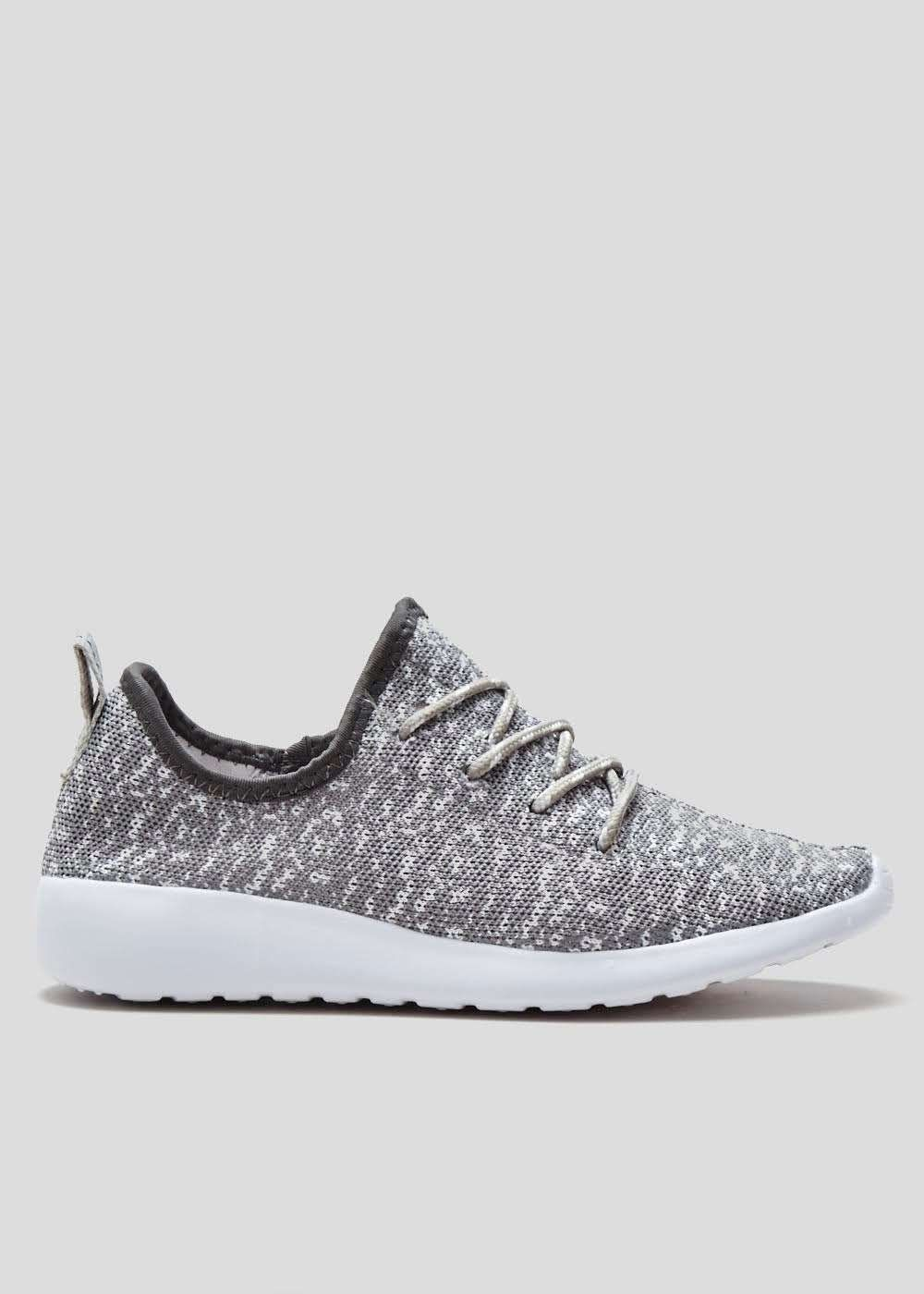 Souluxe Knitted Trainers With Arch