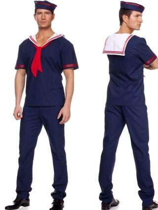 SEXY BLUE SAILOR BOY  sc 1 st  Pinterest & SEXY BLUE SAILOR BOY | Halloween | Pinterest | Sailor Sailor ...