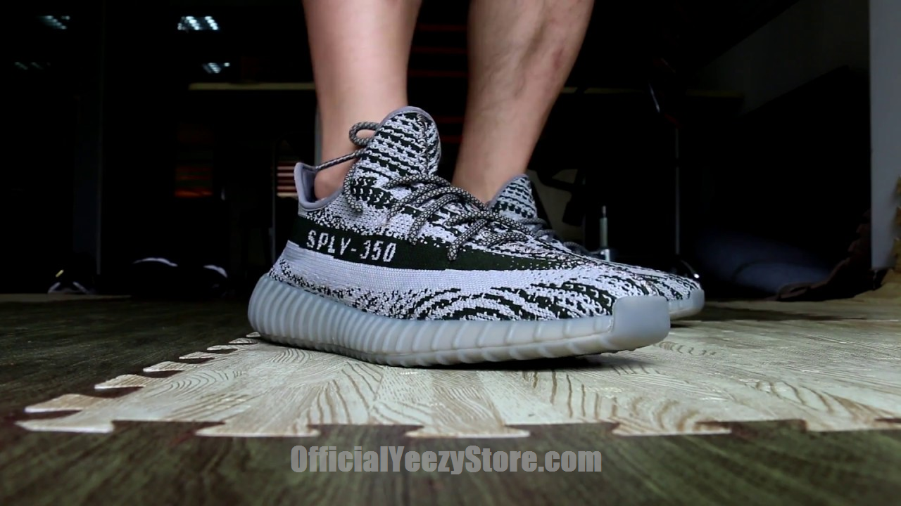 f5f3f5218a037 adidas Yeezy 350 Boost V2 Turtle Dove on feet Review From Trade666a.cn