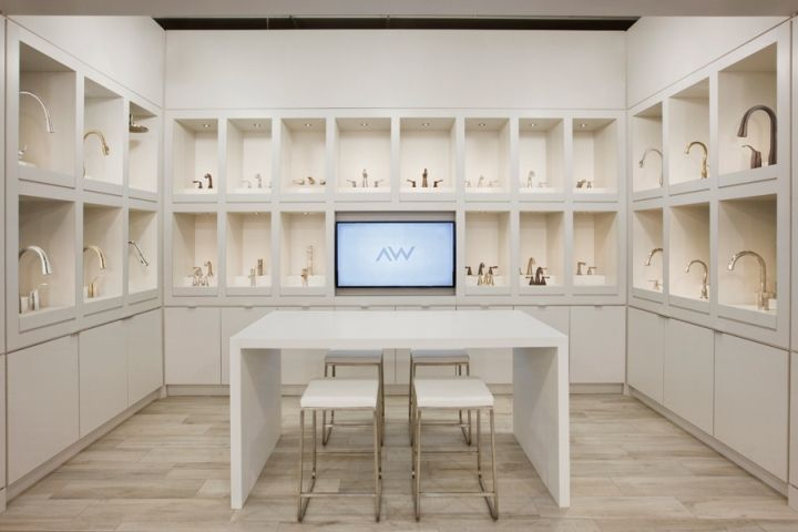 The Studio By Ashton Woods Showroom Cecconi Simone Inc Phoenix Arizona Retail Design Blog