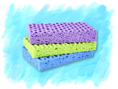 The lowly kitchen sponge can play several important roles around the house. Here's how to use a sponge for more than just doing dishes.