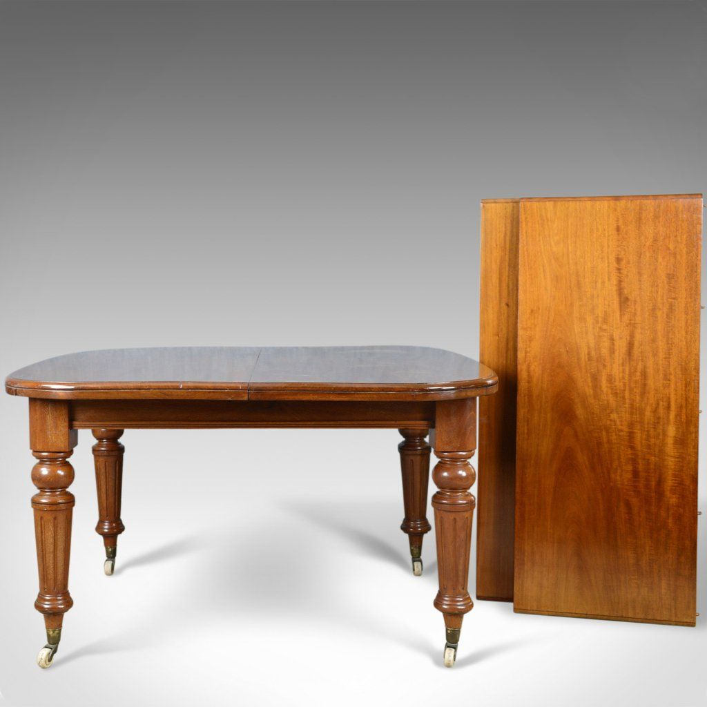 Dining Table Seating 10 Antique Dining Table English Mahogany Victorian Extending