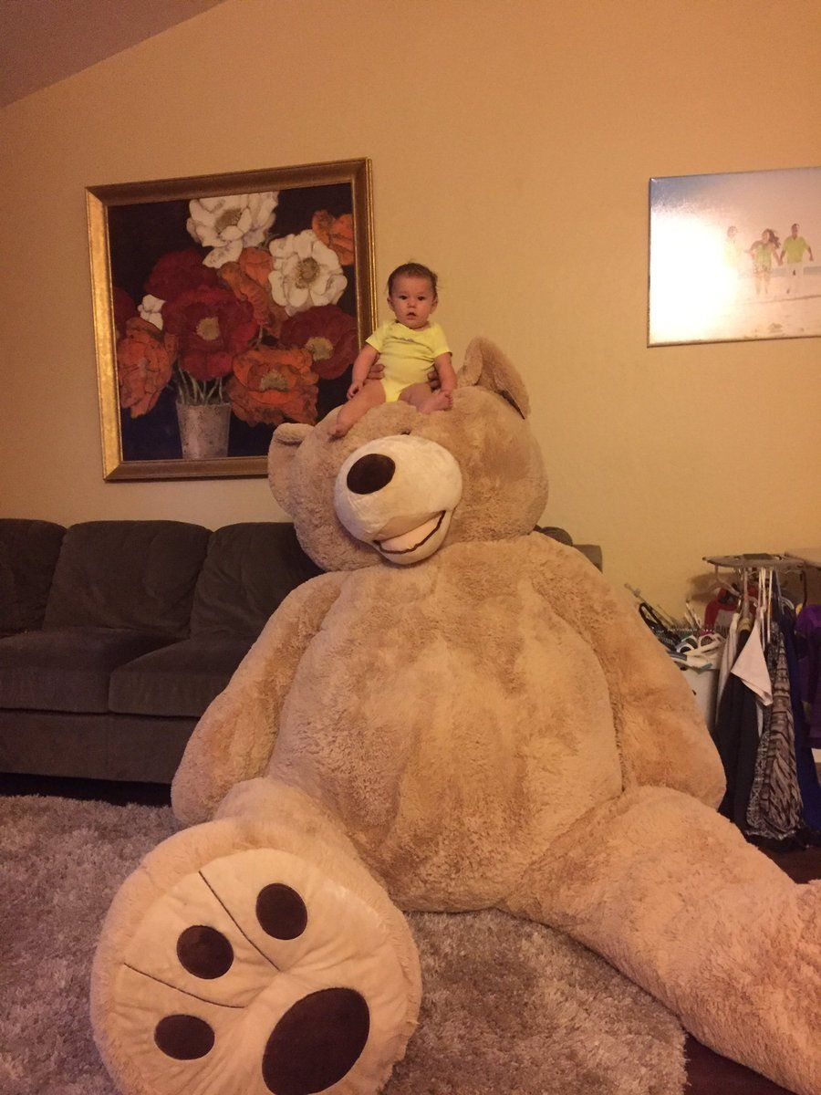 Super large bear for a tiny tot :)