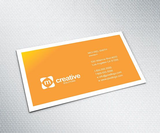An orange business card design businesscard design 1499 this business cards template is designed and provided as adobe illustrator and pdf formats accmission Choice Image