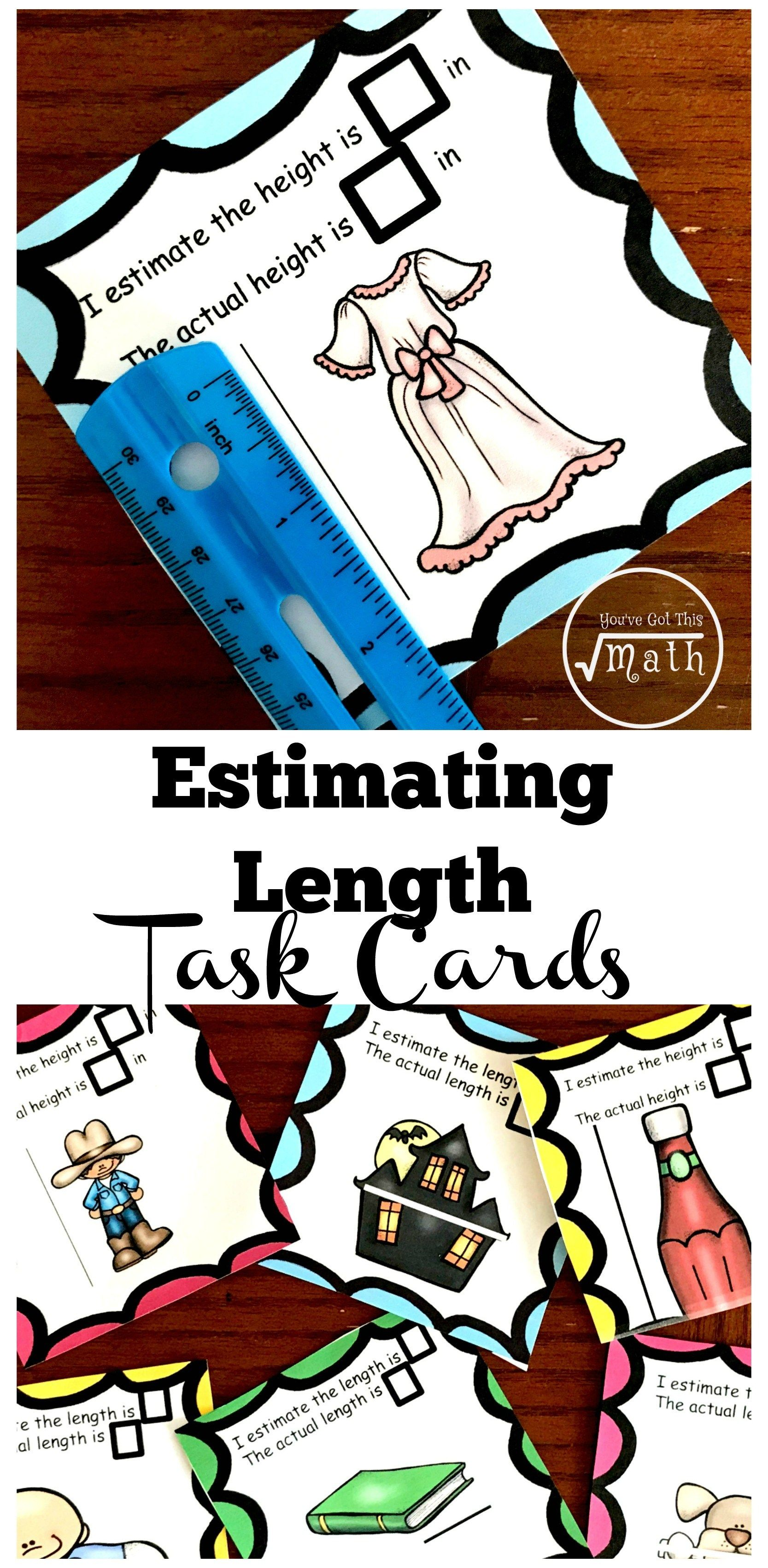 Grab Your Free Estimating Length Worksheets For Cm And