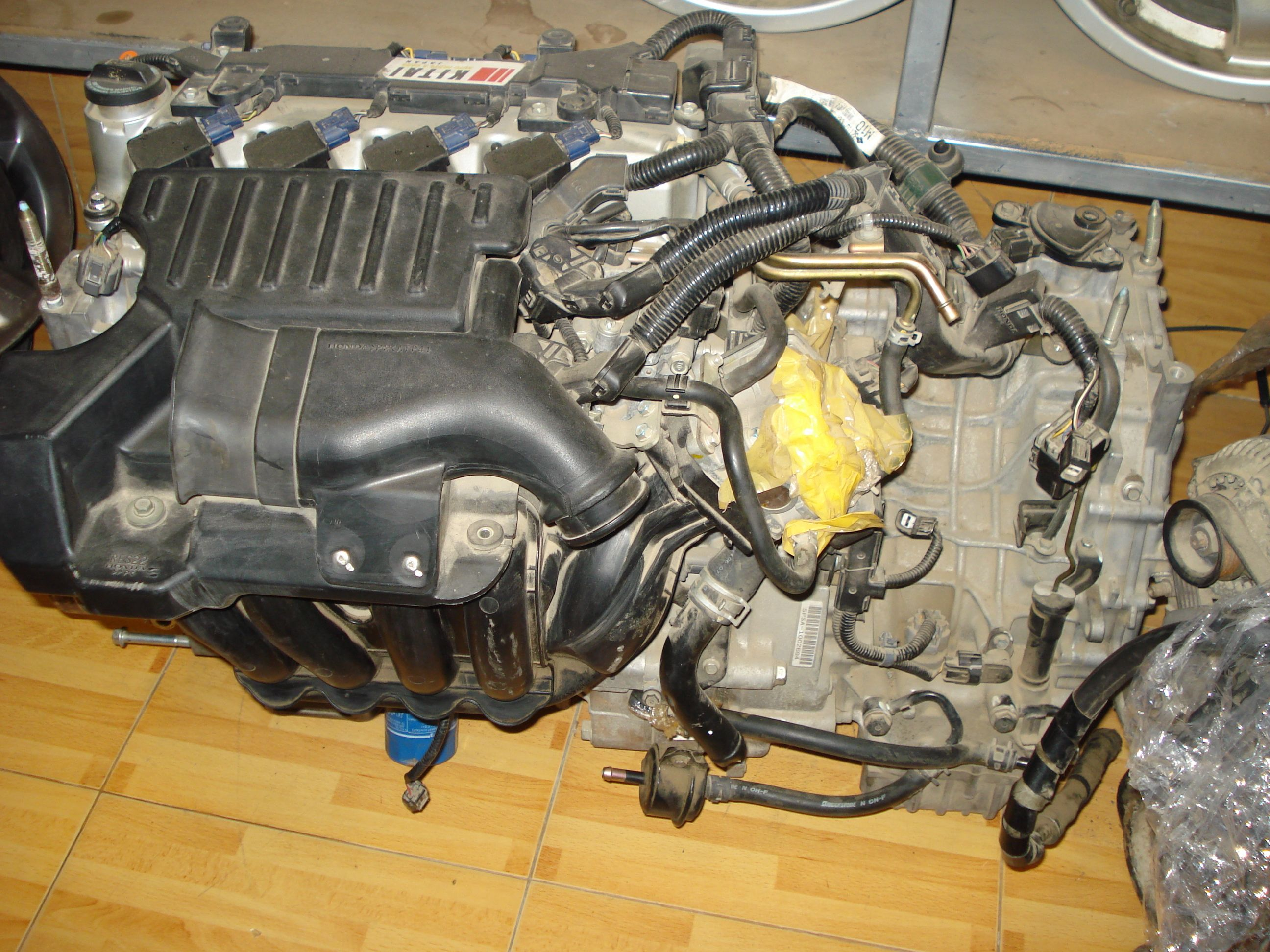 Pin By Kitai Autoparts Cars On Spare Parts Pinterest Honda Civic Intake Manifold Wiring Reborn Hybrid Fd3 2006 10 Complete Engine Transmission Ecu Http