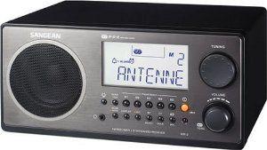 sangean wr-2 digital AM/FM tabletop radio