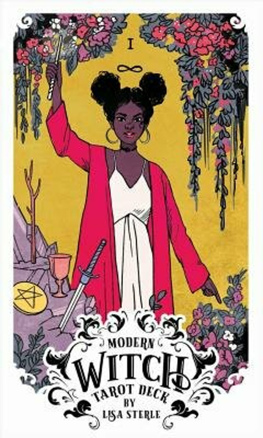 Lisa Sterle Modern Witch Tarot Hardcover Elefant Ro In 2020 Witch Tarot Modern Witch Witches Tarot Deck
