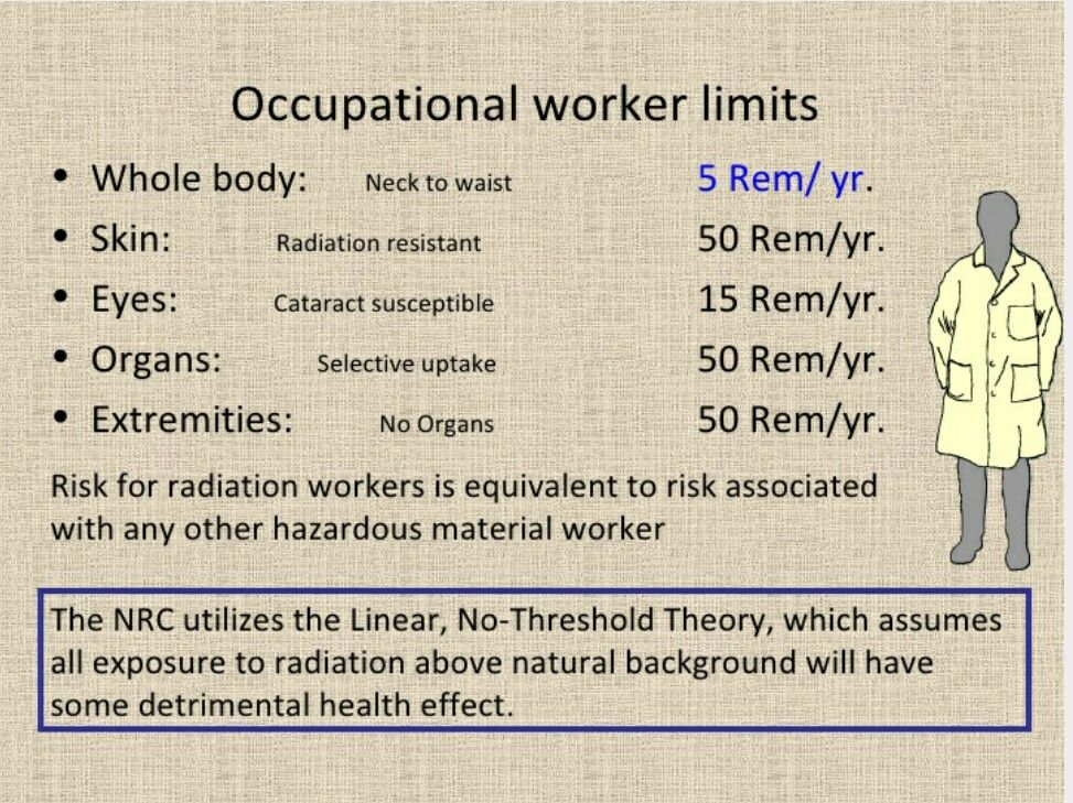 Occupational worker limits radiology Pinterest Radiology, Rad