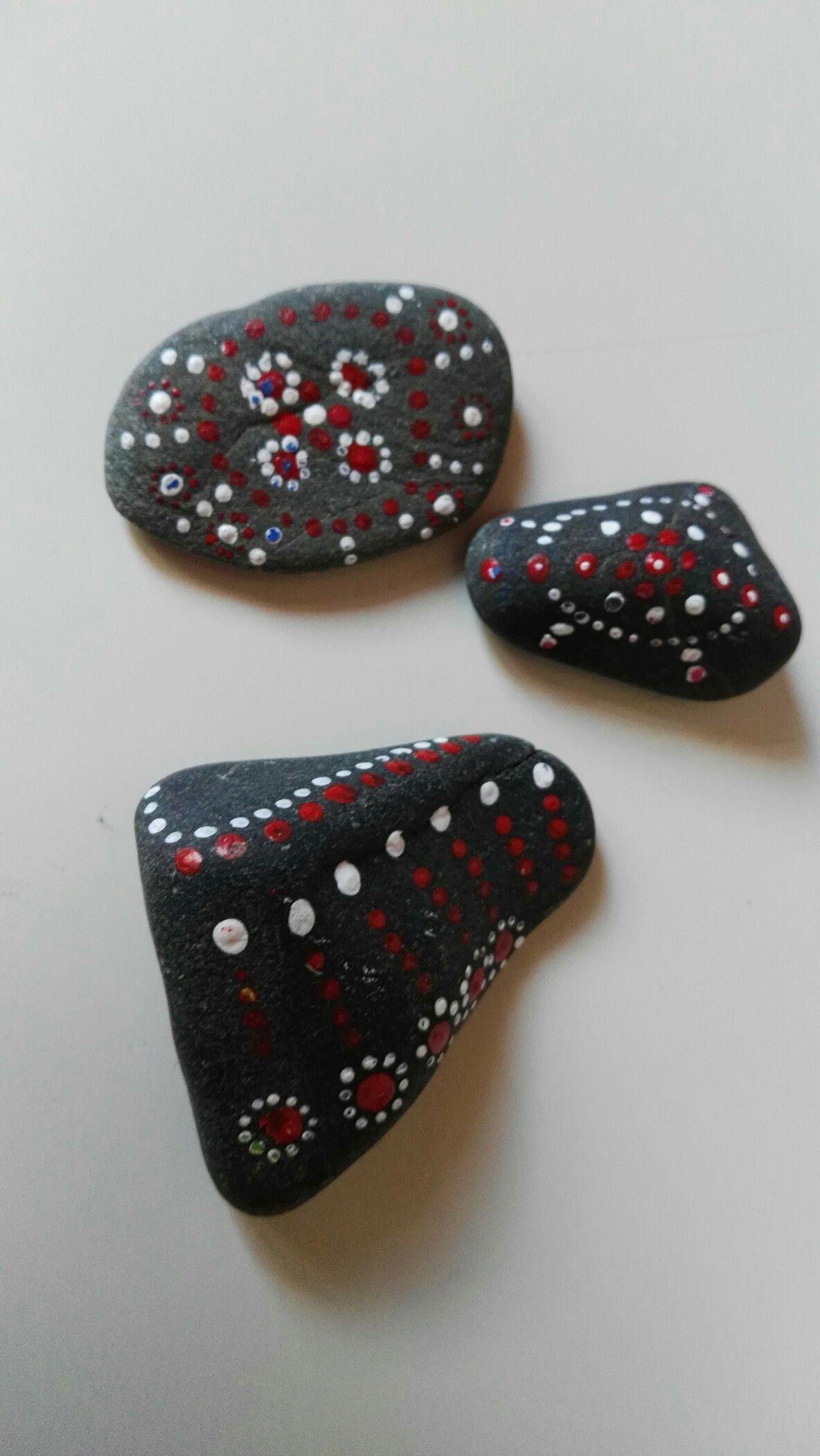Decorando piedras