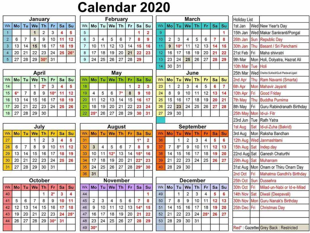Calendar 2020 Year In 2020 Calendar 2020 Calendar Calendar