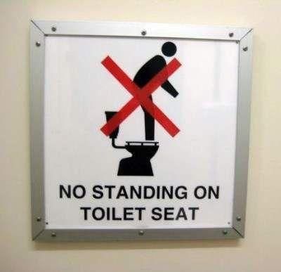 Prime No Standing On Toilet Seat Mebbe Cody Needs This Creativecarmelina Interior Chair Design Creativecarmelinacom