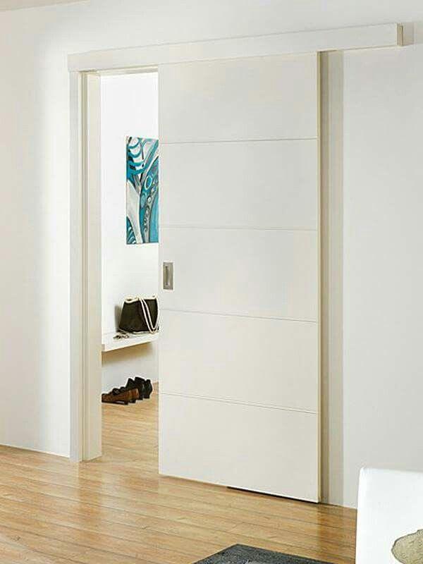 Door To Ensuite Bathroom Sliding Doors Interior Wood Doors Interior Sliding Door Design