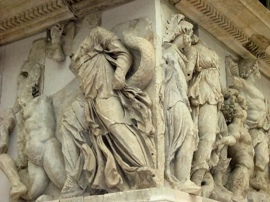 Berlin Germany Pergamon Altar In The Amazing Pergamon Museum Pergamon Museum Ancient Art Berlin Tourism